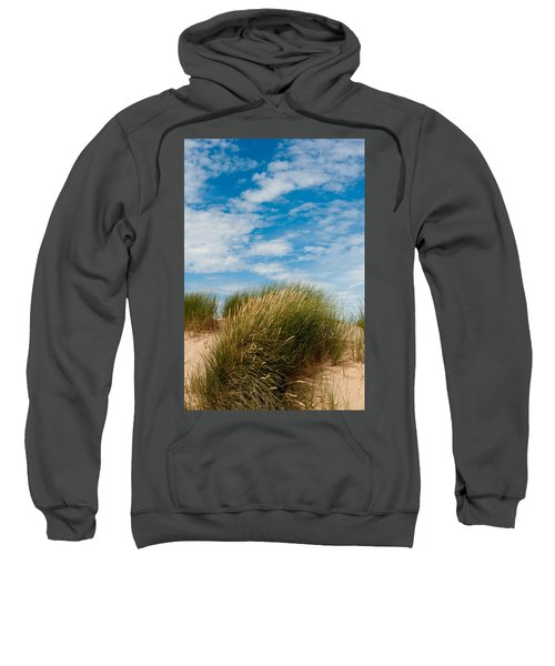 Formby Sand Dunes And Sky Sweatshirt