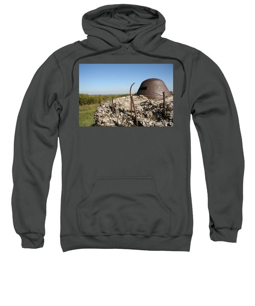 Sweatshirt featuring the photograph Fort De Douaumont - Verdun by Travel Pics