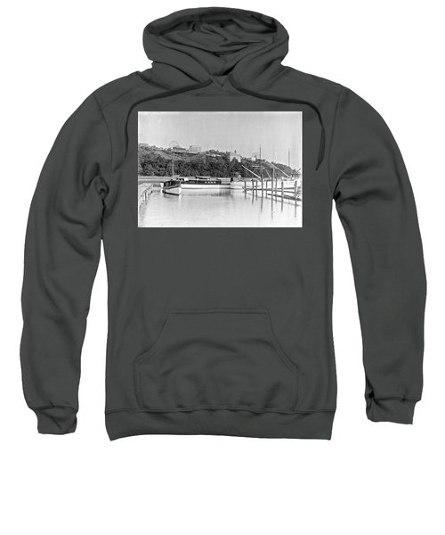 Fort George Amusement Park Sweatshirt by Cole Thompson