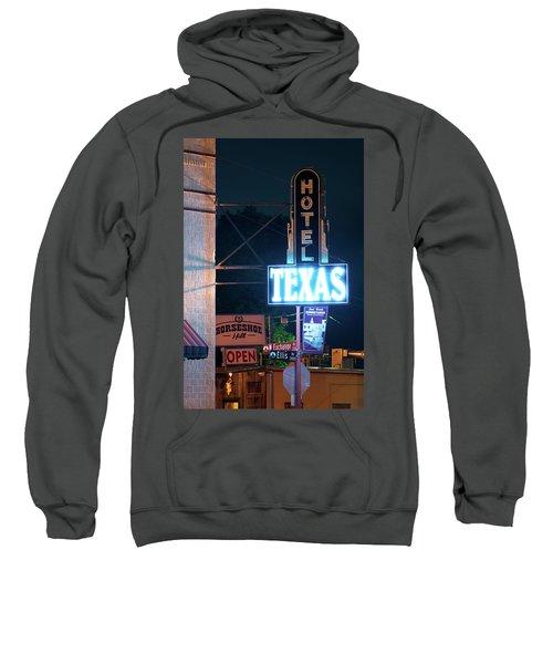 Fort Worth Hotel Texas 6616 Sweatshirt