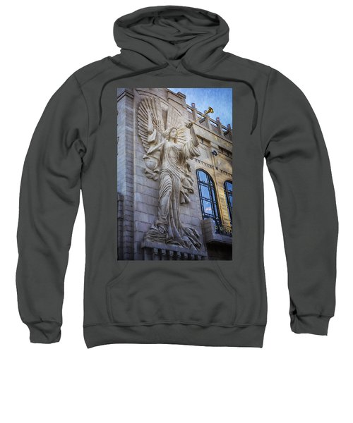 Fort Worth Impressions Bass Hall Angel Sweatshirt