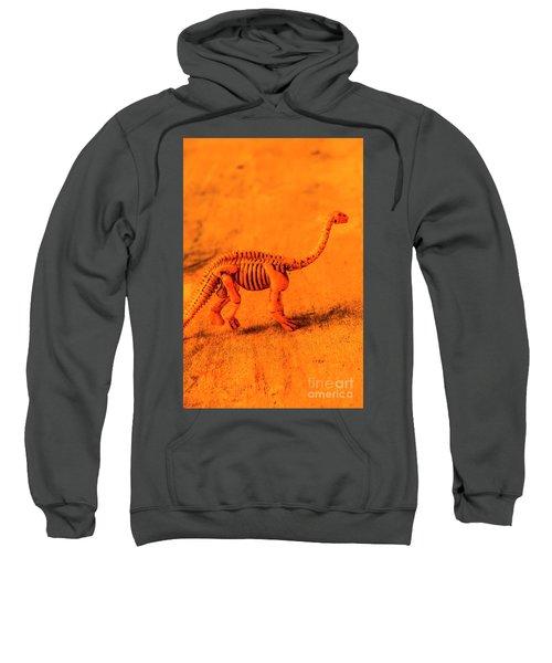 Fossilised Exhibit In Toy Dinosaurs Sweatshirt