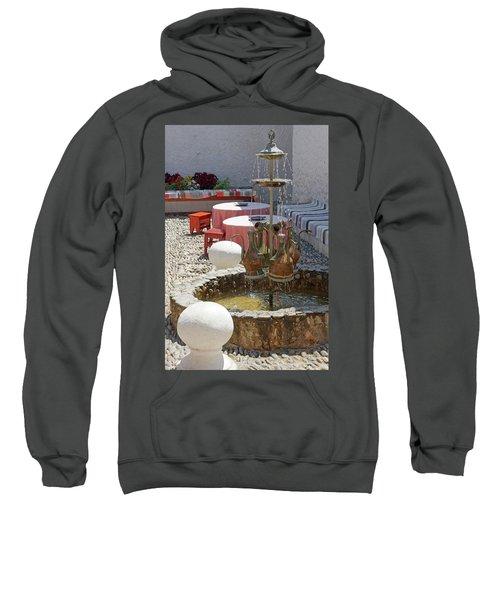 Fountain In Courtyard Sweatshirt