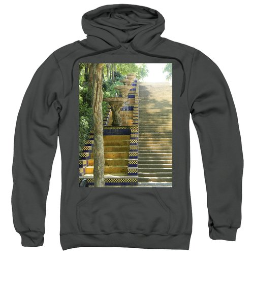 Fountains At Montjuic Sweatshirt