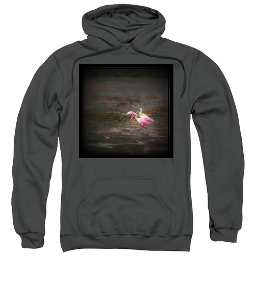 Four Spoons On The Marsh Sweatshirt by Marvin Spates