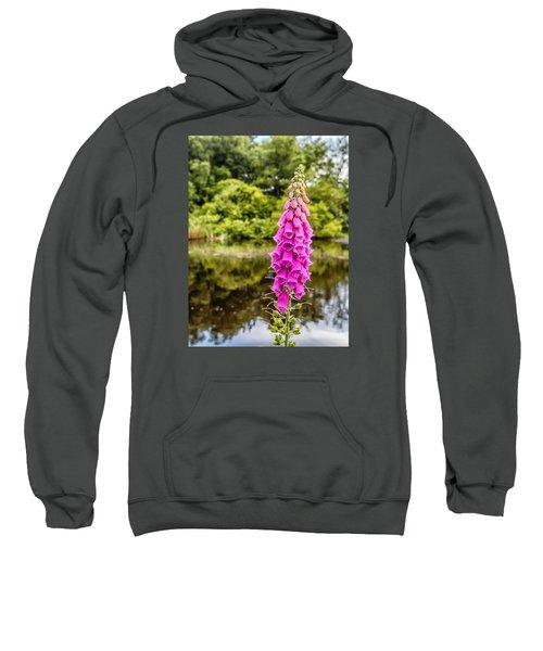 Foxglove In Flower Sweatshirt