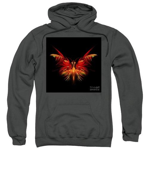 Fractal Butterfly Sweatshirt