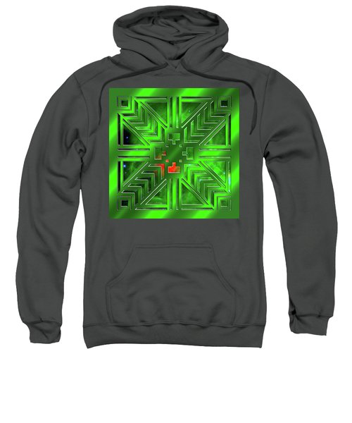 Frank Lloyd Wright Design Sweatshirt