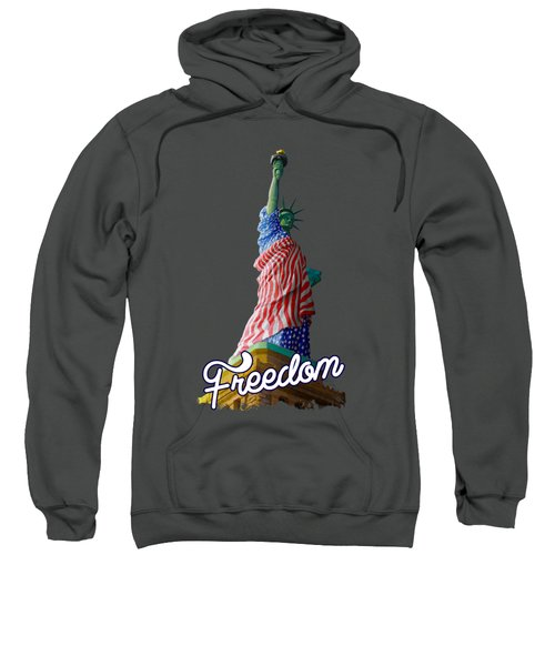 Freedom Sweatshirt by Anthony Mwangi