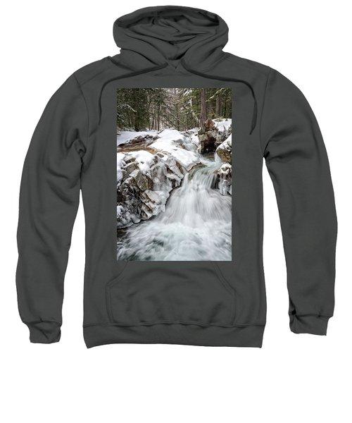 Freeze On The Basin Trail Nh Sweatshirt