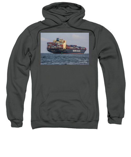 Freighter Headed Out To Sea Sweatshirt