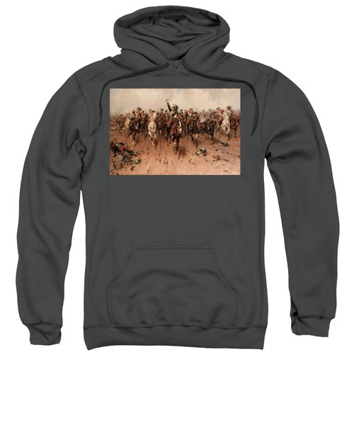French Cavalry Charging Sweatshirt