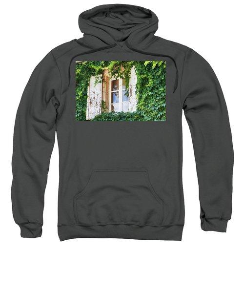 French Window In Provence Sweatshirt