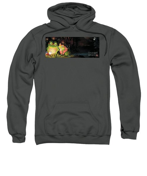 Frogs At Silver Lake Sweatshirt