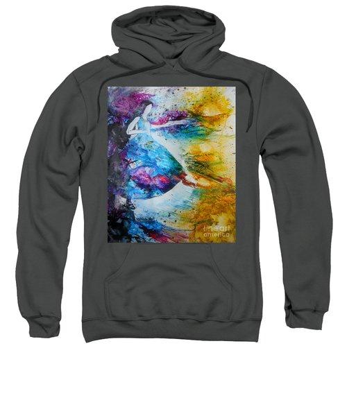 From Captivity To Creativity Sweatshirt