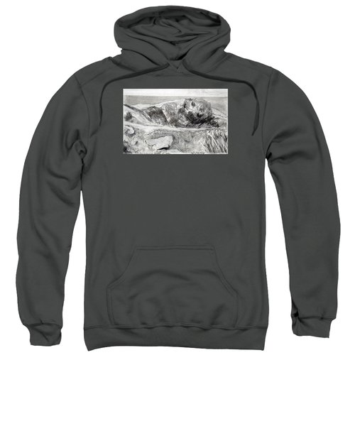 From My Window A Clump Of Trees Sweatshirt
