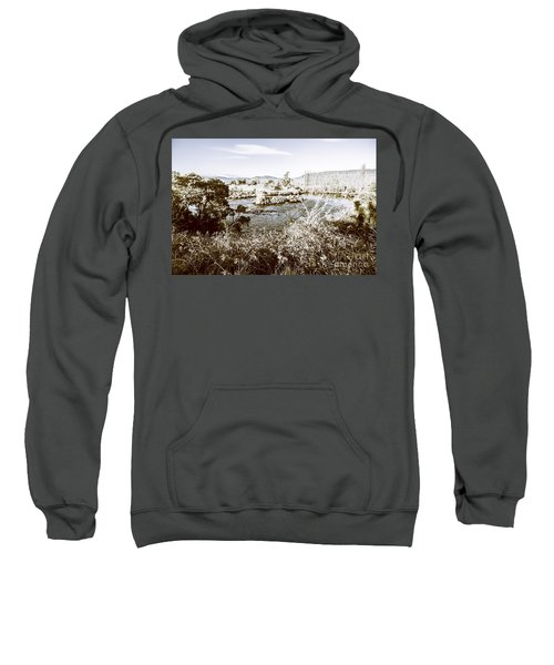 Frost Covered River Sweatshirt