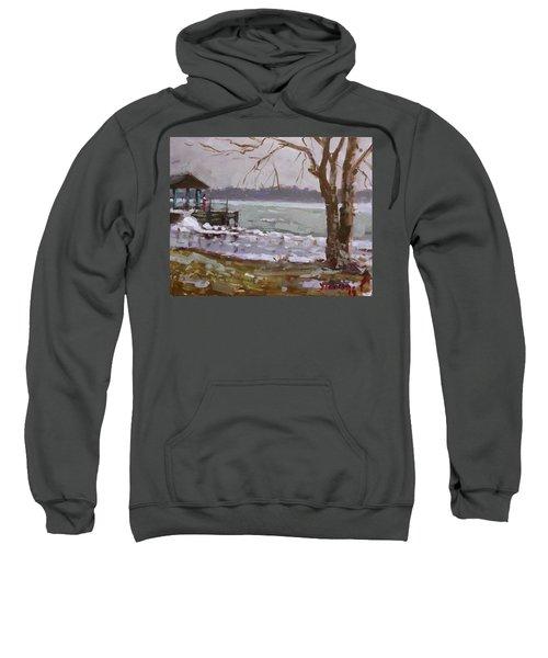 Frozen Niagara River Sweatshirt