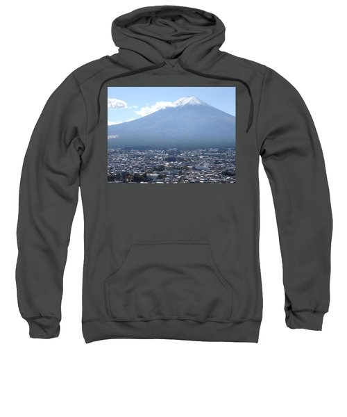 Fuji From Churei Tower Sweatshirt