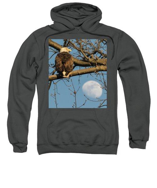 Full Moon Eagle  Sweatshirt