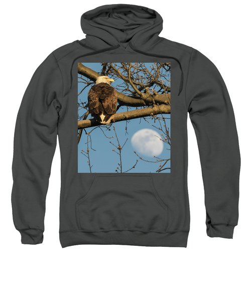 Full Moon Eagle  Sweatshirt