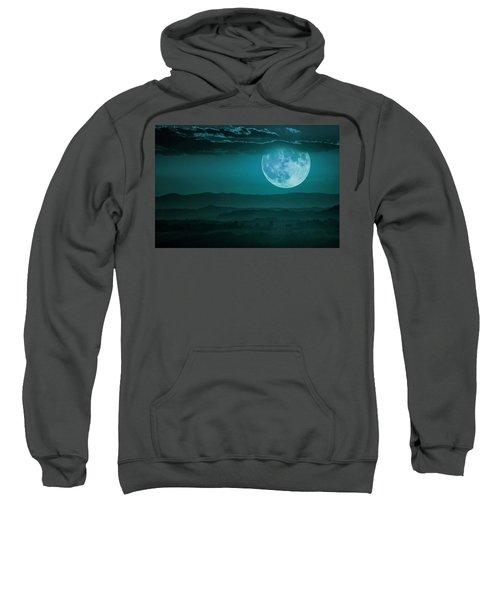 Full Moon Over Tuscany Sweatshirt