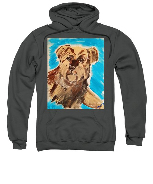 Fuzzy Boy Sweatshirt