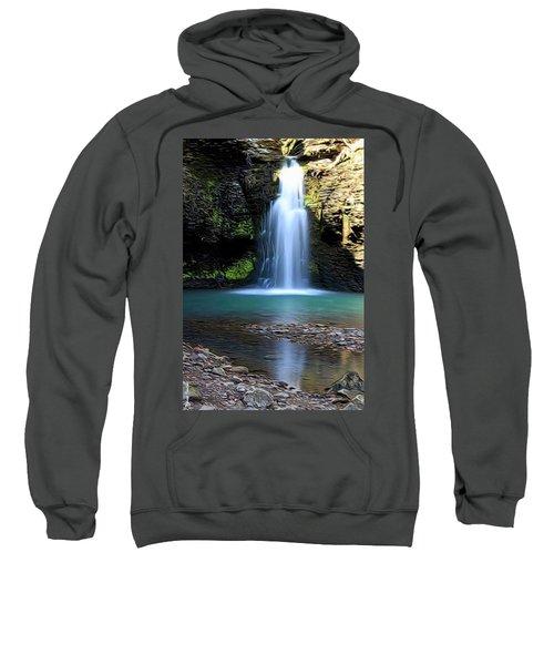 Fuzzy Butt Falls Sweatshirt