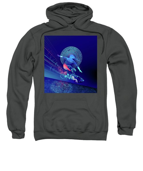 Galaxy Surfer 4 Sweatshirt