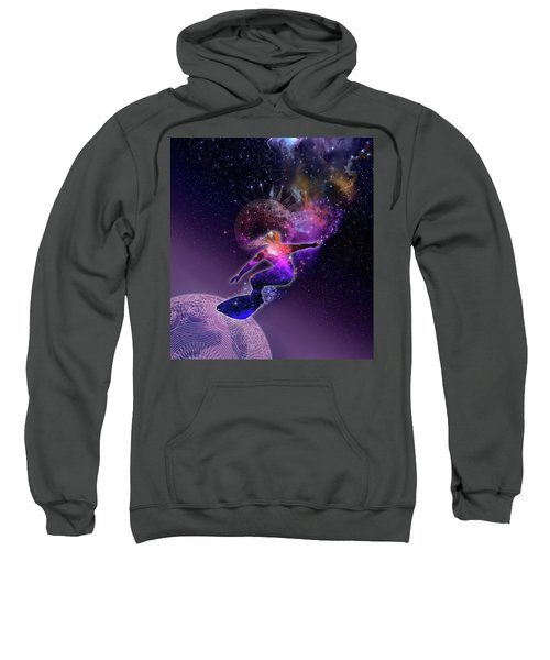 Galaxy Surfer 5 Sweatshirt