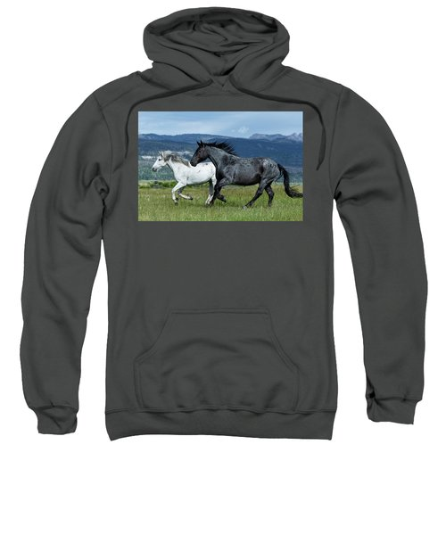 Galloping Through The Scenery Sweatshirt