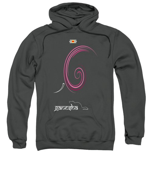 Ganesha Design Sweatshirt by Tim Gainey