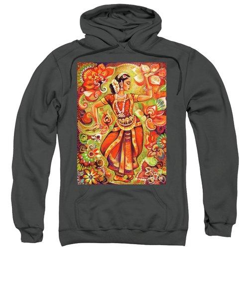 Ganges Flower Sweatshirt by Eva Campbell