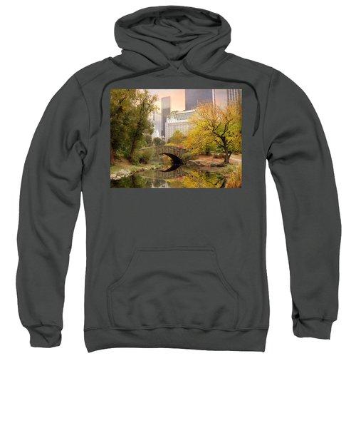 Gapstow Bridge Reflections Sweatshirt