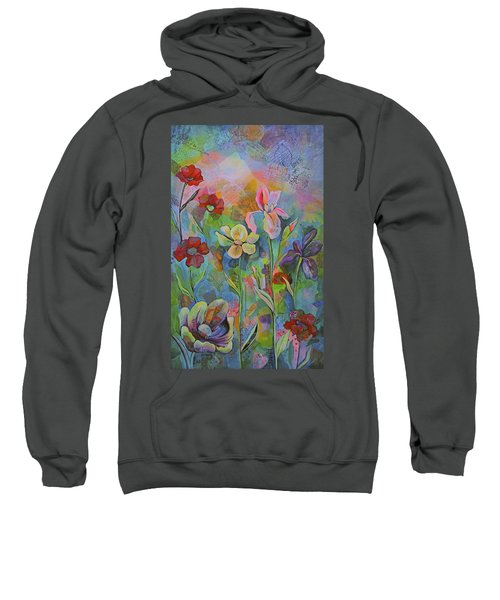 Garden Of Intention - Triptych Center Panel Sweatshirt