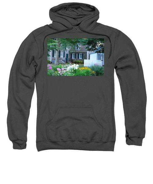 Gardens At The Burton-ingram House - Lewes Delaware Sweatshirt