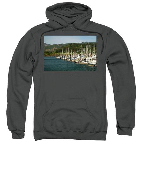 Garibaldi Oregon Marina Sweatshirt
