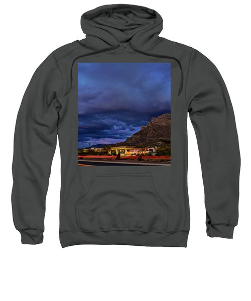 Gathering Storm Op51 Sweatshirt by Mark Myhaver