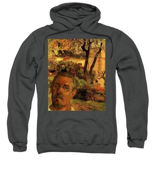 Gauguin Study In Orange Sweatshirt