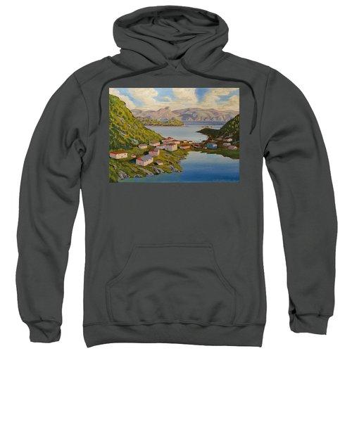 Gaultois Village Newfoundland Sweatshirt