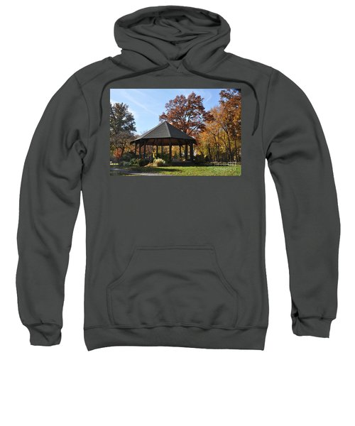 Gazebo At North Ridgeville - Autumn Sweatshirt