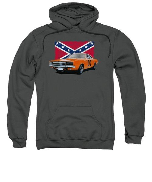 General Lee Rebel Sweatshirt by Paul Kuras