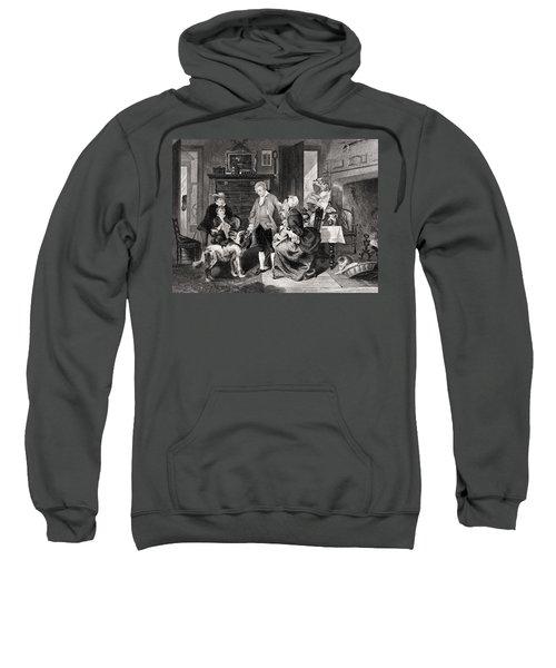 George Washington 1732 To 1799 Hears Sweatshirt