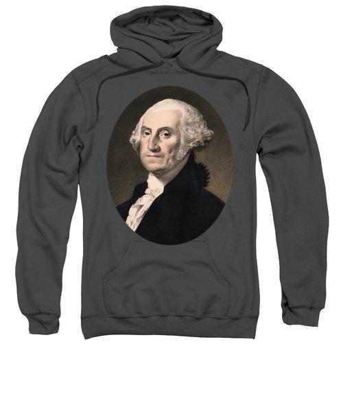 George Washington - Vintage Color Portrait Sweatshirt