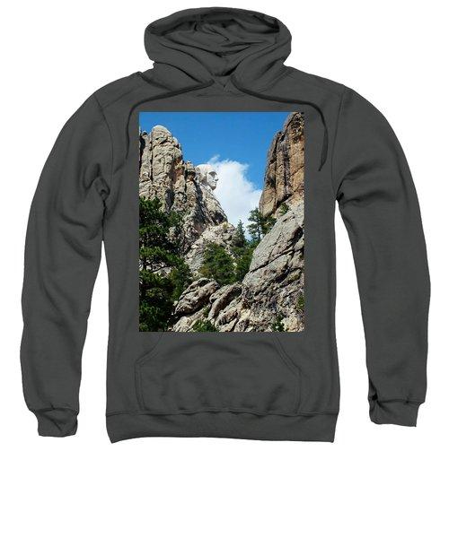 George Washinton Profile - Mount Rushmore South Dakota Sweatshirt