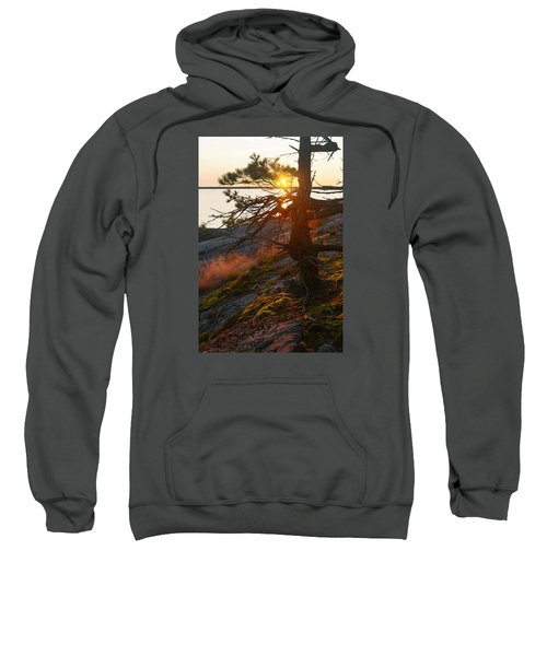 Georgian Bay Sunrise Wild Grass Sweatshirt
