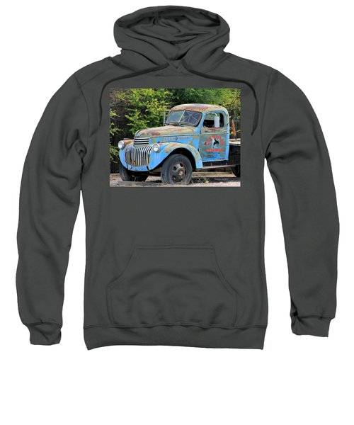 Geraine's Blue Truck Sweatshirt