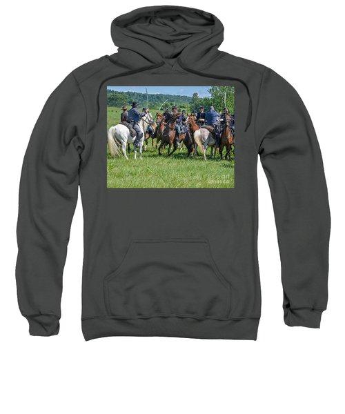 Gettysburg Cavalry Battle 7970c  Sweatshirt