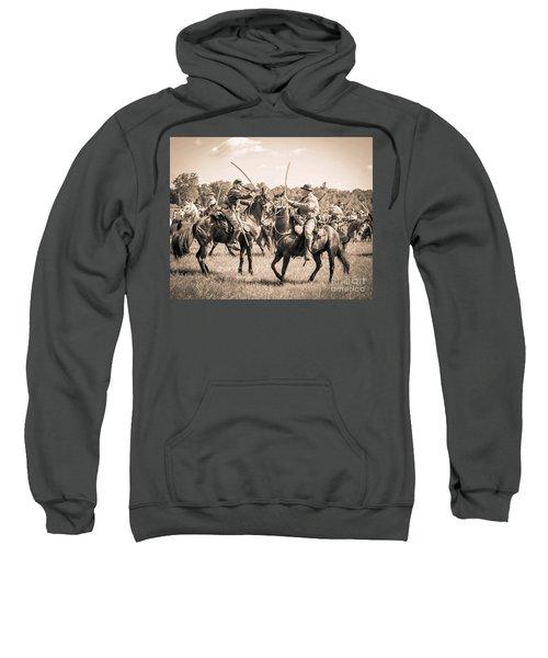 Gettysburg Cavalry Battle 7978s  Sweatshirt