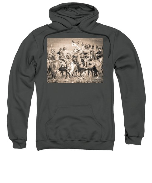 Gettysburg Cavalry Battle 8021s  Sweatshirt